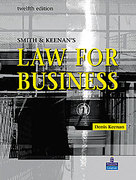 Cover of Smith & Keenan's Law for Business