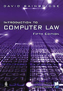 Cover of Introduction to Computer Law