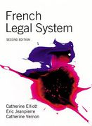 Cover of French Legal System