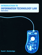 Cover of Introduction to Information Technology Law