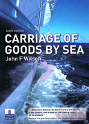 Cover of Carriage of Goods by Sea