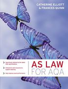 Cover of AS Law for AQA