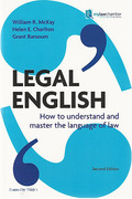 Cover of Legal English: How to Understand and Master the Language of Law (mylawchamber)