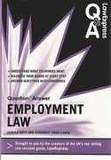 Cover of Law Express Question & Answer: Employment Law