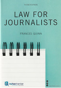 Cover of Law for Journalists 3rd ed (mylawchamber)