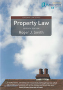 Cover of Property Law 7th ed (mylawchamber Premium)