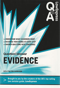 Cover of Law Express Question & Answer: Evidence