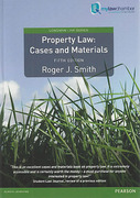 Cover of Property Law: Cases and Materials 5th ed (mylawchamber)