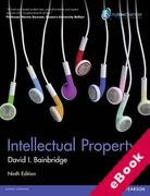 Cover of Intellectual Property 9th ed (mylawchamber) (eBook)
