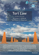 Cover of Tort Law 4th ed (mylawchamber Premium)
