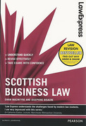 Cover of Law Express: Scottish Business Law