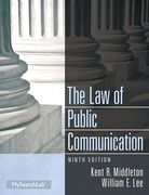 Cover of Law of Public Communication