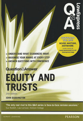 equity and trusts problem question Question 1  courts have a role to play in developing the law the problem  could be  prepared by chris brien, author of equity and trusts guidebook 2e.
