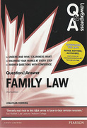 Cover of Law Express Question & Answer: Family Law