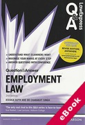 Cover of Law Express Question & Answer: Employment Law  (eBook)