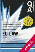 Cover of Law Express Question & Answer: EU Law  (eBook)