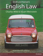 Cover of Smith and Keenan's English Law