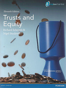 Cover of Trusts and Equity 11th ed (MyLawChamber)