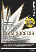 Cover of Law Express: Exam Success