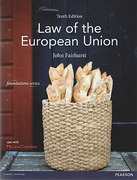 Cover of Law of the European Union 10th ed (MyLawChamber)