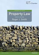 Cover of Property Law 8th ed (MyLawChamber)