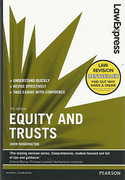 Cover of Law Express: Equity & Trusts