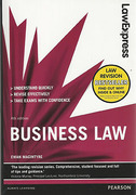 Cover of Law Express: Business Law
