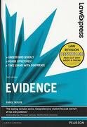 Cover of Law Express: Evidence