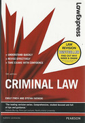 Cover of Law Express: Criminal Law (eBook)