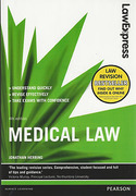 Cover of Law Express: Medical Law (eBook)