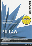 Cover of Law Express: EU Law (eBook)