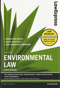 Cover of Law Express: Environmental Law (eBook)