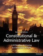 Cover of Constitutional and Administrative Law (MyLawChamber Premium Pack)