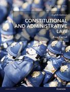 Cover of Constitutional and Administrative Law 8th ed (MyLawChamber)
