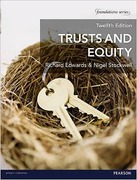 Cover of Trusts and Equity 12th ed (MyLawChamber)