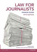 Cover of Law for Journalists