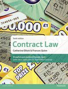 Cover of Elliott & Quinn: Contract Law 10th ed (MyLawChamber)