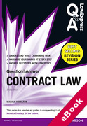 Cover of Law Express Question & Answer: Contract Law  (eBook)