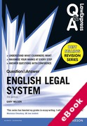 Cover of Law Express Question & Answer: English Legal System Law  (eBook)