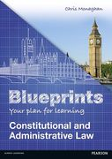 Cover of Blueprints: Constitutional and Administrative Law