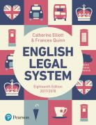 Cover of Elliott & Quinn: English Legal System 2017/18