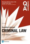 Cover of Law Express Question & Answer: Criminal Law (eBook)