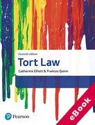 Cover of Elliott & Quinn: Tort Law (eBook)