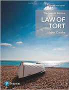 Cover of Law of Tort