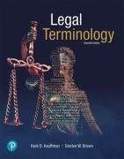 Cover of Legal Terminology