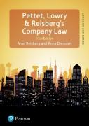 Cover of Pettet's Company Law & Corporate Finance