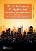 Cover of Pettet, Lowry & Reisberg's Company Law (eBook)