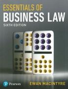 Cover of Essentials of Business Law