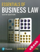 Cover of Essentials of Business Law (eBook)