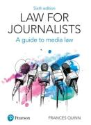 Cover of Law for Journalists: A Guide to Media Law